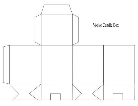 box template to print kiddo shelter