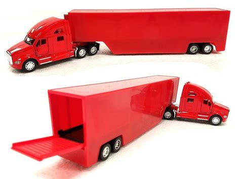 Kinsmart Kenworth Container 168 kinsmart 1 68 display kenworth t700 container blue pull back car semi trucks kt1302dc 14 85