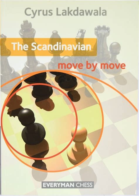 chess openings in pictures move by move books the scandinavian move by move 8cross8