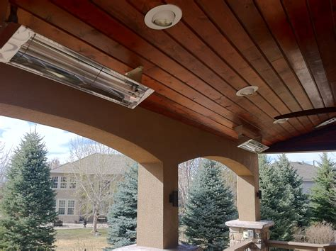 infratech comfort built in patio heaters patio built shop infrared patio