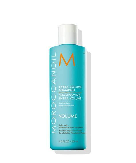 volume products fine hair volumizing shoo fine hair treatment moroccanoil