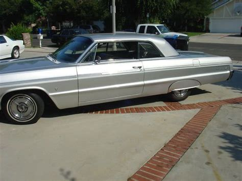 silver 64 impala buy new 1964 chevy impala ss sport power windows 57