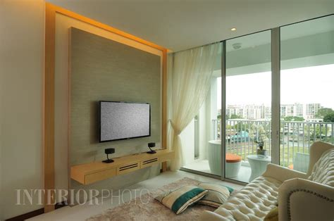 Modern Condo Living Room Design by Kovan Residences Interiorphoto Professional