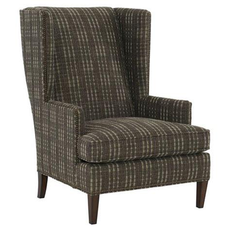 plaid armchair rufus rustic lodge plaid brown armchair kathy kuo home