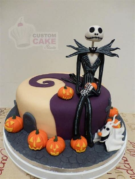 Skellington Cake Decorations by 54 Best Cakes Scary Images On