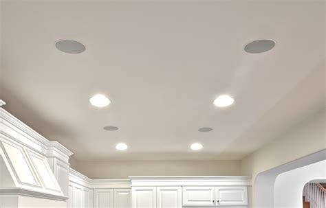 Ceiling Speakers With by In Wall In Ceiling