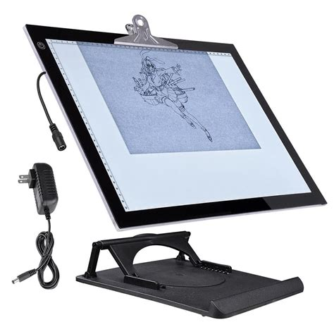 drafting table pad 19 quot led artist stencil board drawing tracing table