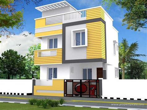 attractive duplex house front elevation designs trends