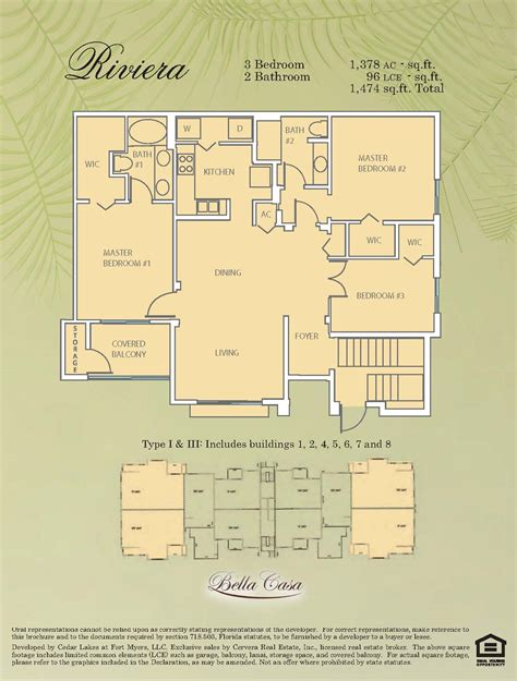 casa bella floor plan bella casa ft myers condos sale rent floor plans