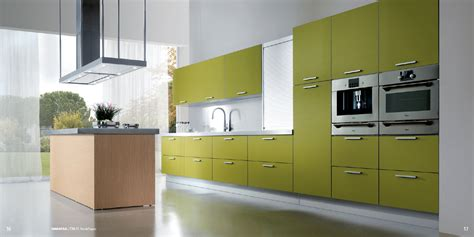 green kitchen interior design stylehomes net maratea kitchen design with doors in a verde yapen finish