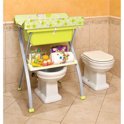 Brevi Changing Table Changing Table With Bath Brevi Lindo Hello 024 Silver Ebay