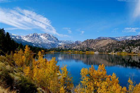 california fall colors av june lake california fall color
