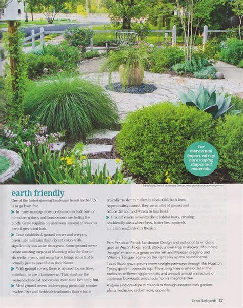 Great Backyards Magazine by Former Garden Is In Great Backyards Magazine