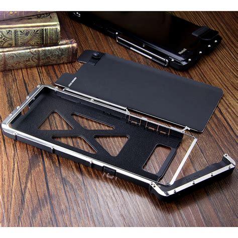 Samsungnote 3 Aluminium Metal Cover Casing Bumper Armor Kuat armor king iron luxury shockproof stainless steel aluminum metal f armor king