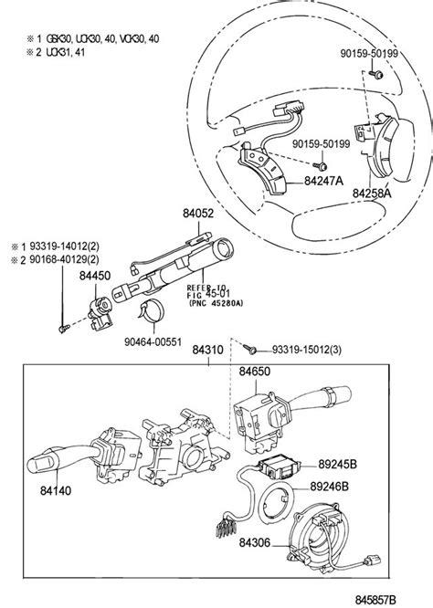 2004-2007 Toyota Land Cruiser Steering Wheel Gray Audio