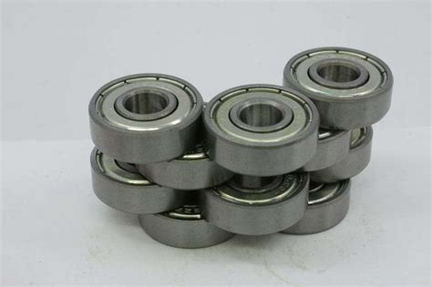 4pcs Bearing 3x6x2 5 Mm Metal Sealed 10 bearing 3x6x2 5 stainless steel shielded miniature