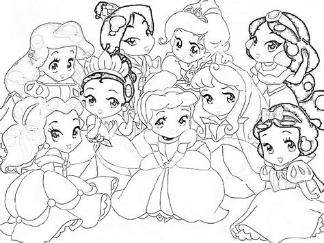 Baby Princess Coloring Pages Printable Coloring Pages 2852 Coloring Pages Of Baby Princesses