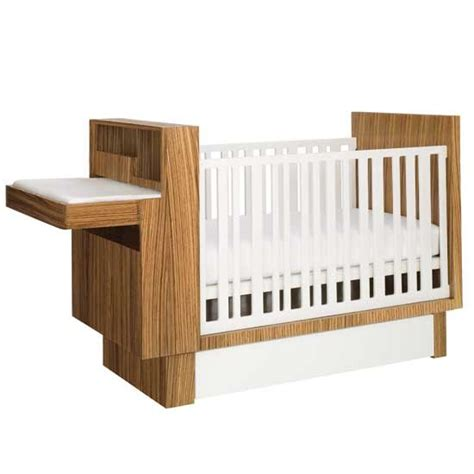 A Design Aficianado S Guide To Modern Baby Cribs Contemporary Baby Crib
