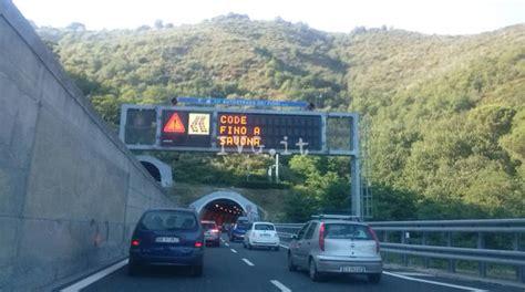 code autostrada dei fiori maxi tonamento e rientro traffico in tilt sulla a10
