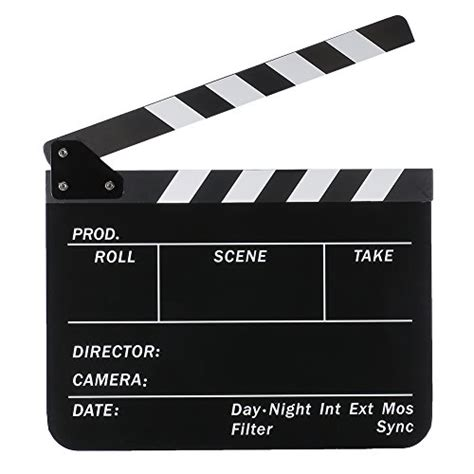 Plastic Board 90cm X 30cm White neewer acrylic plastic 10x12in 25x30cm erase director s clapboard cut