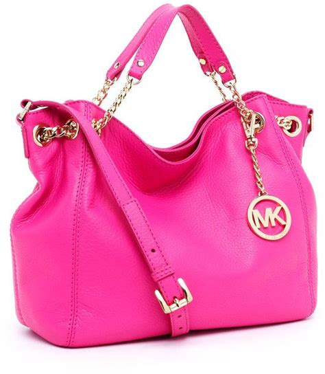 light pink mk purse michael koras pink purse nothing every goes wrong with