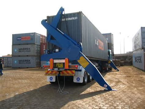 camion porte conteneur camion porte container avec grue tracteur agricole