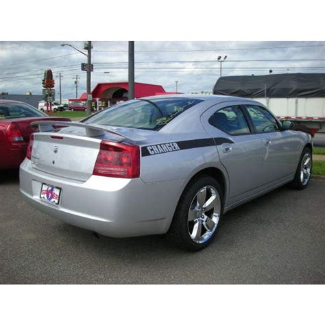 dodge charger with wing 2006 2010 dodge charger spoiler spoiler and wing king