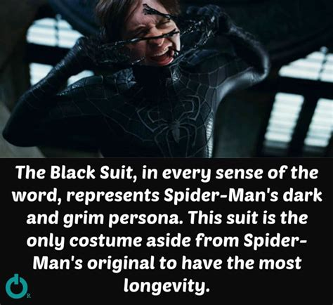 the in the black suit books 7 comic book facts about suits that you never