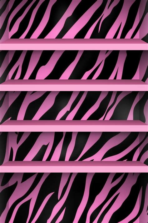 wallpaper iphone zebra iphone 4 wallpapers pink zebra