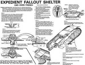 bomb shelter plans expedient fallout shelter infographics how tos