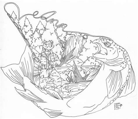 fly fishing tattoo by juno gemini on deviantart