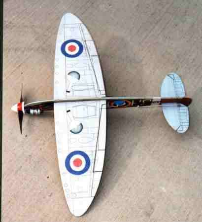 How To Make A Paper Spitfire - paper spitfire