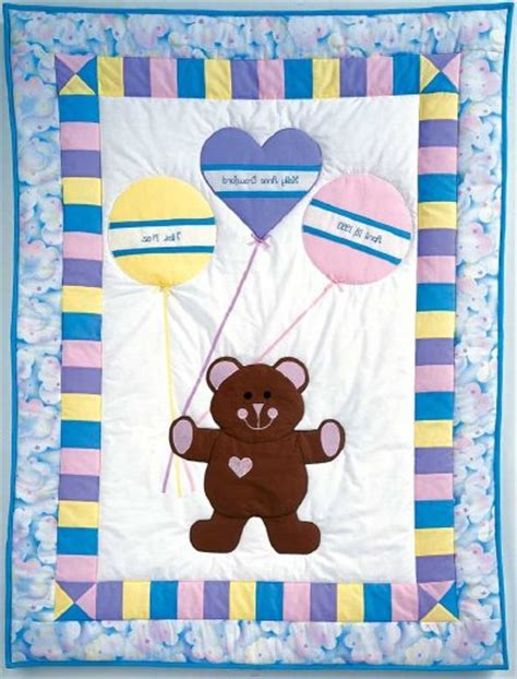 Free Printable Baby Quilt Patterns by Free Baby Quilt Pattern