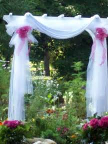 decorating wedding arbors ideas myideasbedroom com