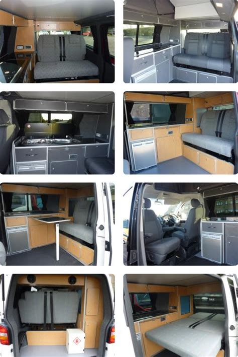 Dining Table Ideas by Vw T5 Camper Van Motor Home Conversions