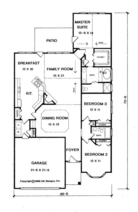 Caspian Floor Plan by Caspian Creek Ranch Home Plan 076d 0092 House Plans And More