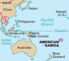 samoa map world american samoa howstuffworks