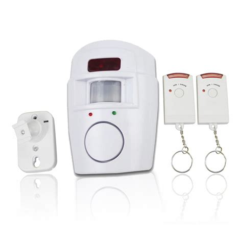 home security wireless alarm system ir motion sensor
