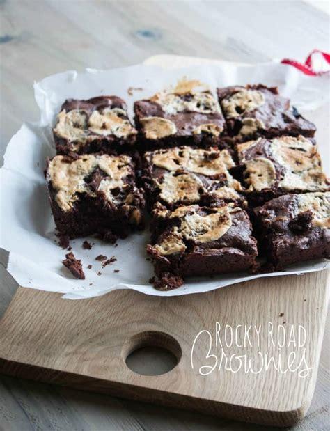 Rocky Road Brownies In Jar 250gr Rocky Road Brownies In A Jar Sweetphi