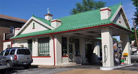 awnings st louis mo missouri canopy gas stations roadsidearchitecture com
