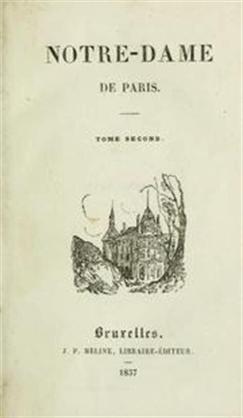 notre dame de edition books notre dame de 1837 edition open library