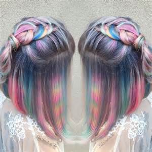 to hair color hair color trends tye dye hair color trend teen vogue