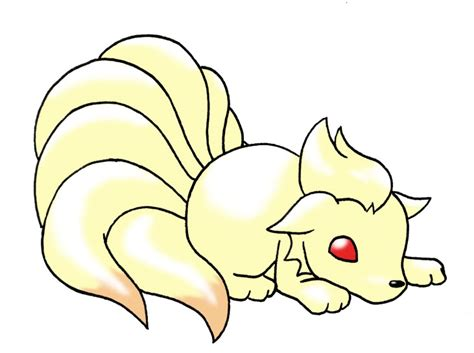 pokemon coloring pages ninetails nine tails coloring pages