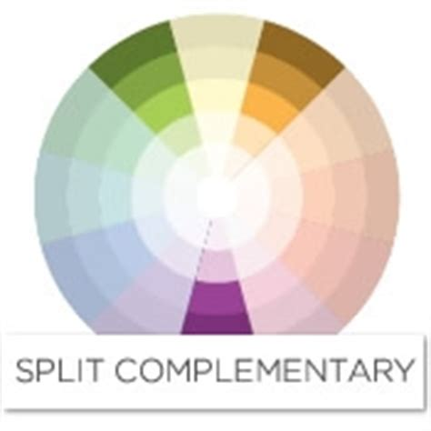 what colors compliment purple color story decorating with purple split complementary