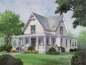 Farmhouse Building Plans Four Gables Southern Living House Plans