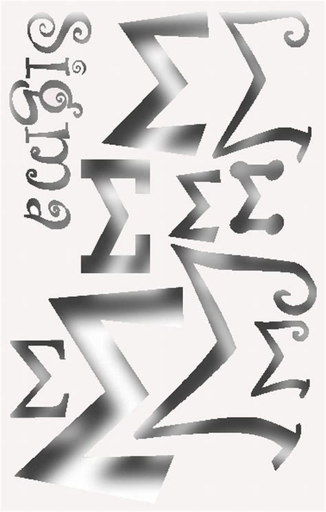 printable greek letters for shirts greek letter sigma stencil for all your sorority crafting
