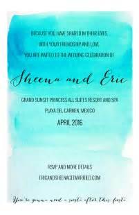 invitation wording for after destination wedding destination wedding invitation wording weddingbee
