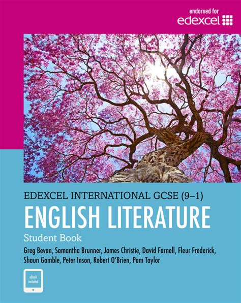 edexcel international gcse 9 1 edexcel international gcse 9 1 english literature student bookpam taylor the igcse bookshop