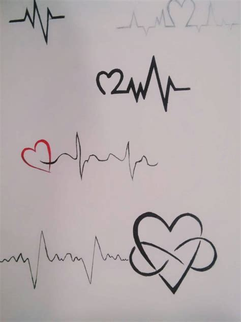 heartbeat line tattoo heartbeat by dmg52598 on deviantart