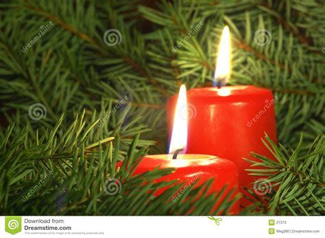 foto candele natalizie candele di natale immagine stock immagine di feste